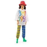 """Колекційна лялька """"BMR 1959"""" у футболці в сітку та шотландських штанах Barbie"""
