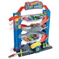 Чотирьохповерховий гараж для машинок Hot Wheels