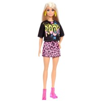"""Лялька Barbie """"Модниця"""" у стильній рок-футболці"""