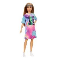 """Лялька Barbie """"Модниця"""" у різнокольоровій сукні та кепці-козирку"""