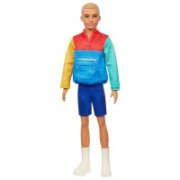"""Лялька Кен """"Модник"""" у світшоті в стилі печворк Barbie"""