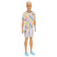 """Лялька Кен """"Модник"""" у клітчастій футболці Barbie"""