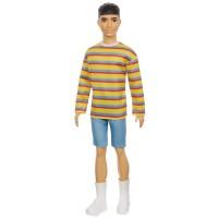 """Лялька Кен """"Модник"""" у смугастому джемпері Barbie"""