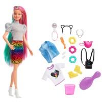 """Лялька """"Веселковий леопард"""" Barbie"""