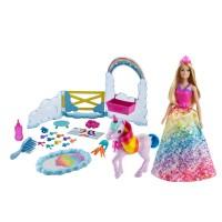"""Набір Barbie """"Догляд за єдинорогом"""" з Дрімтопії"""