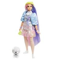 """Лялька Barbie """"Екстра"""" у cалатовій шапочці"""