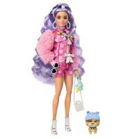 """Лялька Barbie """"Екстра"""" з бузковим волоссям"""