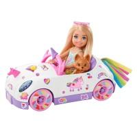 Кабріолет Челсі з наклейками Barbie