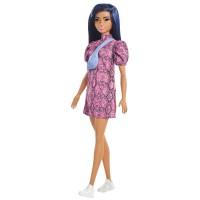 """Лялька Barbie """"Модниця"""" у сукні з принтом під зміїну шкіру"""