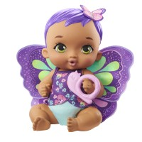 "Пупс ""Фіолетові крильця"" з пляшечкою My Garden Baby"