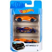Набір з 3-х базових машинок Hot Wheels (в ас.)