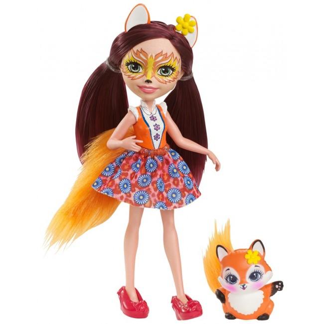 """Кукла Enchantimals """"Лисичка Фелисити"""""""