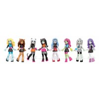 Коллекционная фигурка Monster High в асс.(8) Mega Bloks