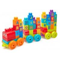"""Конструктор """"Поезд с буквами"""" Mega Bloks"""