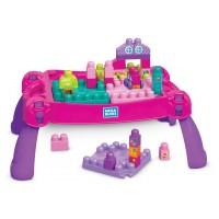 """Конструктор """"Развивающий столик принцессы"""" обновл. Mega Bloks"""