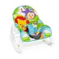 """Массажное кресло-качалка """"Сказочные джунгли"""" Fisher-Price"""