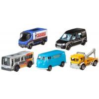 Подарочный набор автомобилей Matchbox (5 шт.) (в асс.)