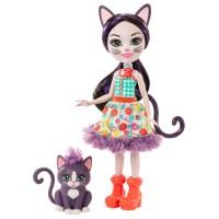 """Кукла Enchantimals """"Котик Сиеста"""""""
