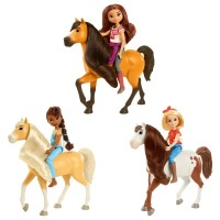 Игровой набор с куклой и лошадкой Spirit (в асс.)