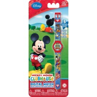 Часы Mickey Mouse (5 функций: месяц, дата, часы, минуты, секунды)